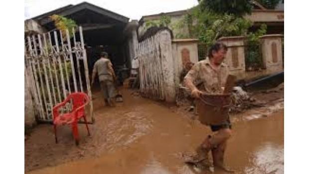 Banjir Bandang Terjang Aceh, Belasan Rumah Hancur