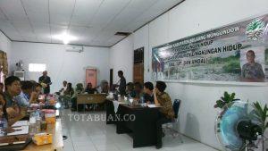 Badan Lingkungan Hidup Bolmong membahas AMDAL PT Conch