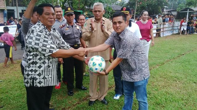 Bupati: Sepakbola Merupakan Sarana Pembinaan Bagi Generasi Muda