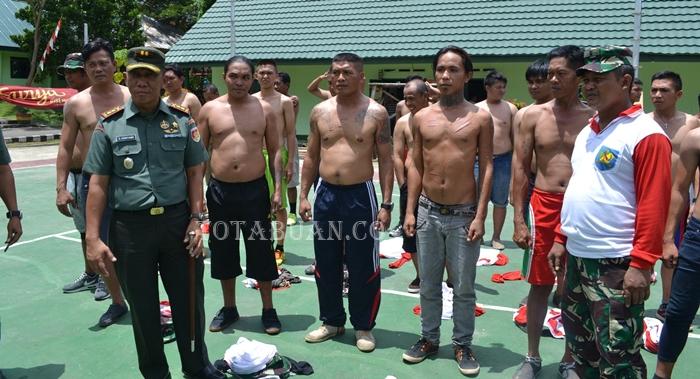 Kodim 1303 Bolmong Sasar Preman Kampung
