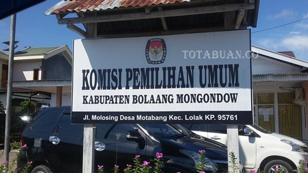 KPUD Bolmong Mulai Lakukan Tahapan Pilkada