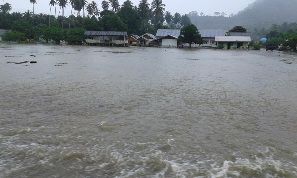 Tiga Dusun di Desa Bolangat Terendam Banjir