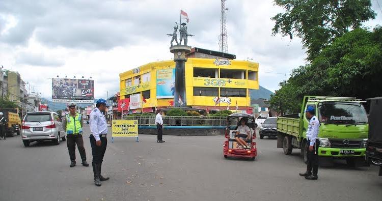 Satlantas Polres Bolmong Tilang 883 Pelanggar