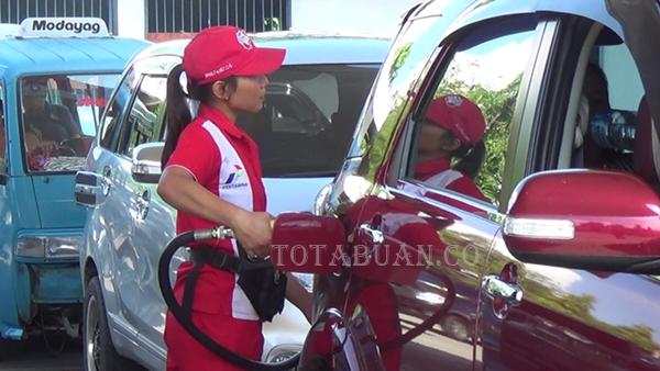 BBM Jenis Premium di Kotamobagu Mulai Langkah