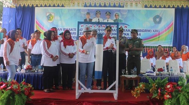 Wali Kota Canangkan Bulan Bhakti Gotong Royong Masyarakat