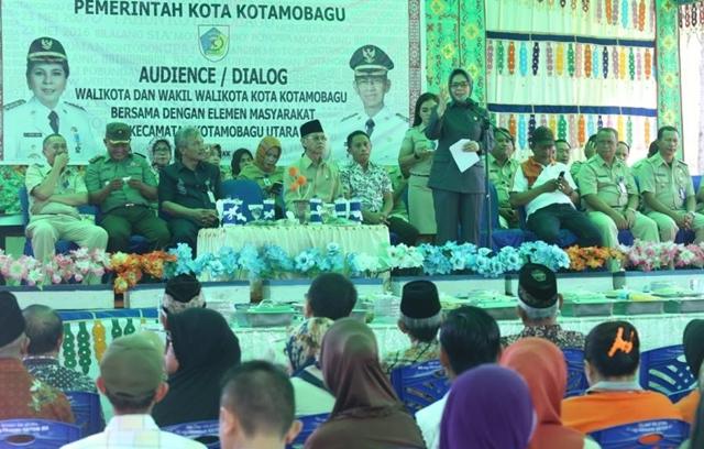 Wali Kota Buka BBGR di Kecamatan Kotamobagu Utara