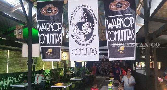 Warkop Comunitas Tempat Nongkrongnya Anak Muda Kotamobagu