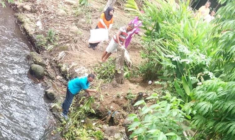 Pemkot Gandeng TNI dan Masyarakat Bersih-bersih Sungai