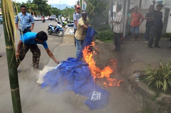 Begie: PAN Siap Laporkan Aksi Pembakaran Atribut Partai ke Polisi