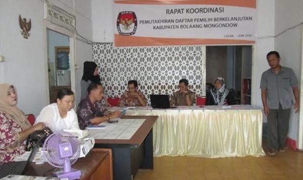 KPU Bolmong Gelar Rakor Mutarlih
