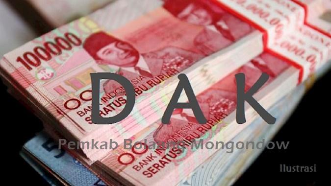 Pemkab Bolmong Dapat Kucuran Rp128 Miliar