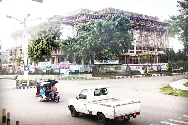 Pemkot Gelontorkan 35 Miliar Untuk Kelanjutan Proyek Masjid Raya