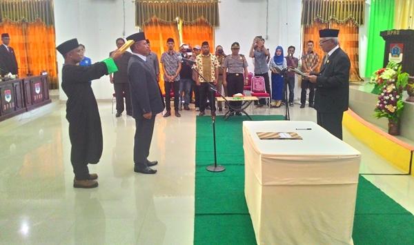 DPRD Boltim Gelar Rapat Paripurna PAW