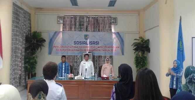 Keterlibatan Perempuan di Pembangunan Bolmong Masih Minim