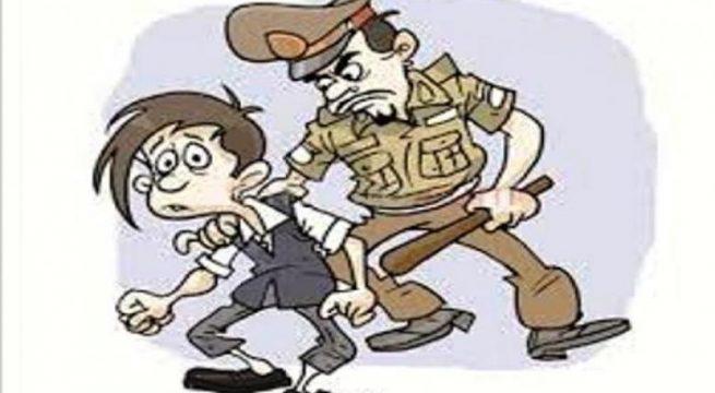 Polisi aniaya warga