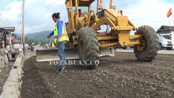 Proyek Jalan di Kotamobagu Terus Dipacu