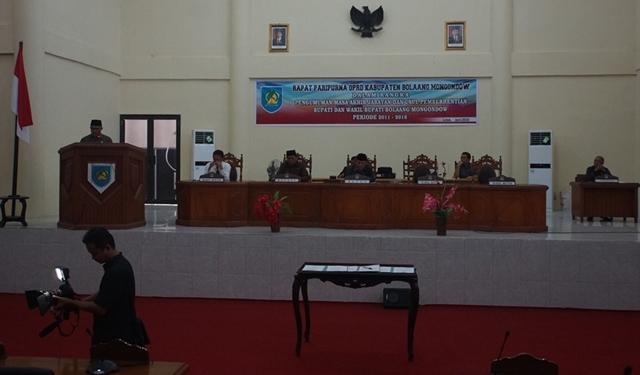 DPRD Paripurnakan Pengumuman Masa Akhir Jabatan Bupati dan Wakil Bupati