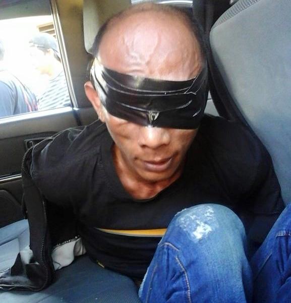 Yanto Kambing Tak Berkutik Ketika Ditangkap