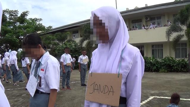 Ratusan Siswa Baru di SMK II Kotamobagu Terima Perlakukan Tidak Mendidik