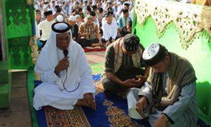 Bupati pimpin Takbir, Tahlil dan Tahmid sebelum sholat Ied