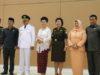 Ketua DPRD Welty Komaling bersama Forkopimda dan Penjabat Bupati