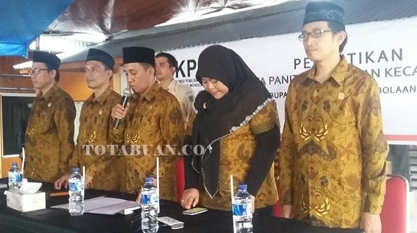 KPU Bolmong Mantapkan Data Pemilih