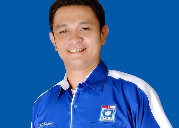 Ketua DPD II PAN Bolmong Musli Manoppo