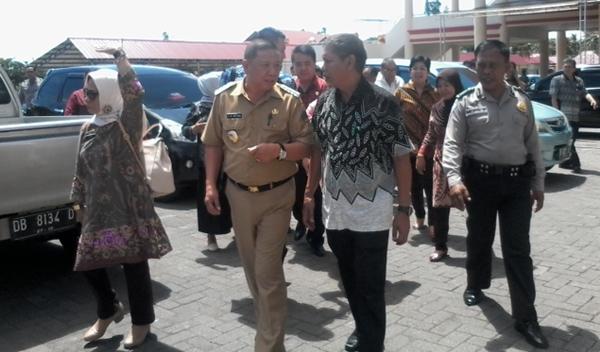 Pj Bupati Bolmong Tinjau Kesiapan Rumah Jabatan