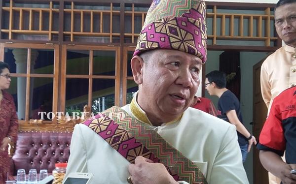 Pj Bupati Bolmong Adrianus Nixon Watung