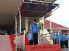 Plh Bupati Bolmong Ashari Sugeha saat memimpin apel Korpri