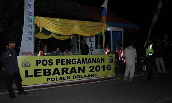 Tim TRC PB BPBD Bolmong Ikut Pantau Arus Mudik