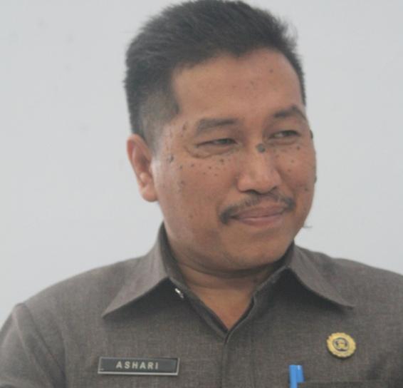Sekda Bolmong Ashari Sugeha