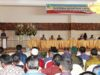 Wakil Wali kota Jainuddin Damopolii saat membuka sosialisasi Ranperda bersama DPRD
