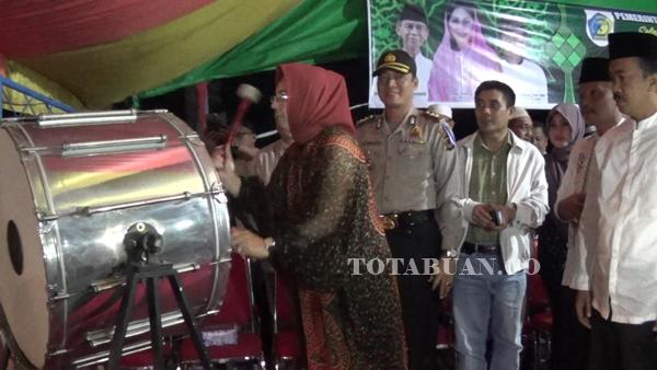 Wali Kota Lepas Rombongan Pawai Takbir