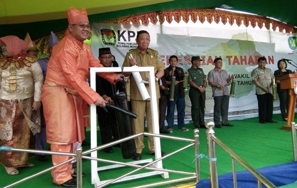 KPU Bolmong Launching Tahapan Pilkada