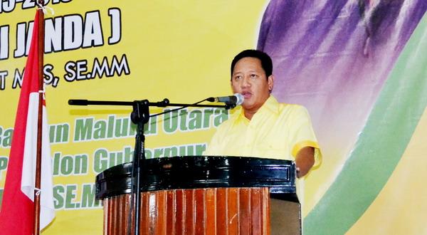 DPP Golkar Tunda Rapat Pleno Penetapan Bakal Calon Bupati Bolmong