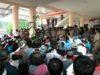 Aksi Demo warga Tiberias di kantor bupati Lolak