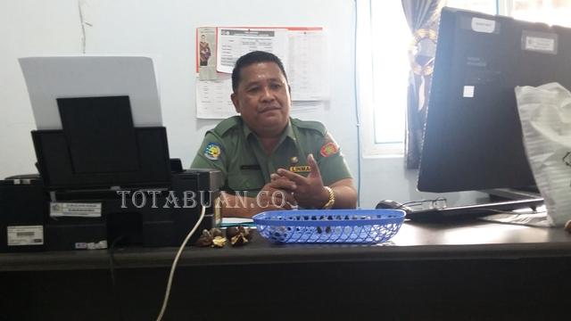 Kepala Inspektorat Alex Saranaung