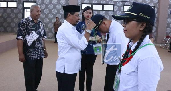 Bupati Tutup Prajabatan CPNS Golongan III Boltim Tahun 2016