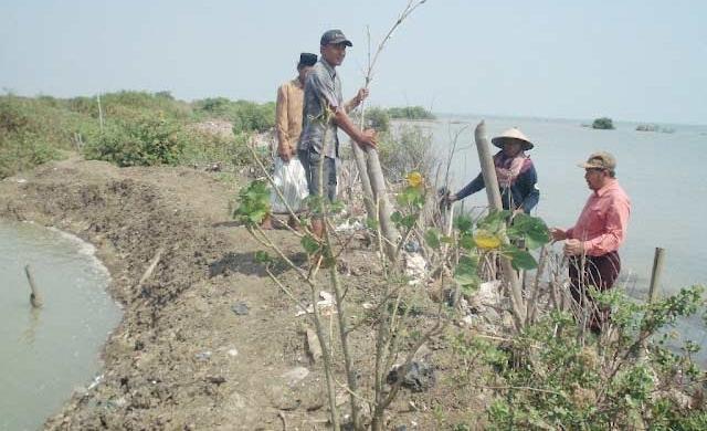 Pemkab Bolmong Antisipasi Abrasi Pantai