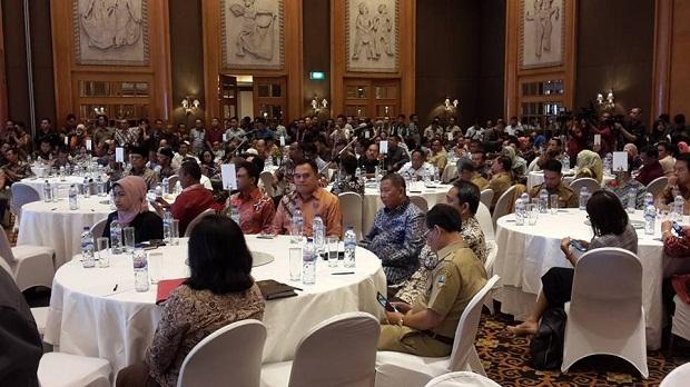 Pj Bupati Hadiri Launchinng IKP di Bawaslu RI