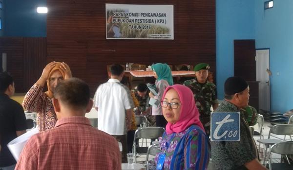 Suasana Rapat Komisi Pengawasan Pupuk (KP3) Kotamobagu