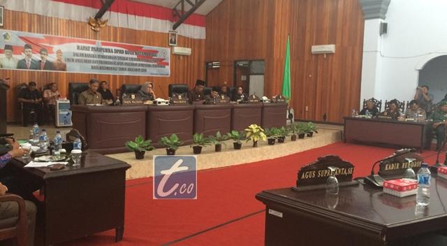 Wali Kota Sampaikan Nota Keuangan Lewat Rapat Paripurna