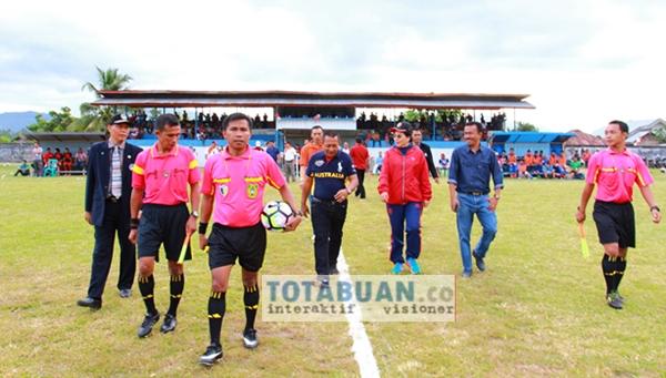 Wali Kota Suport Enam Tim Berlaga di Liga Nusantara