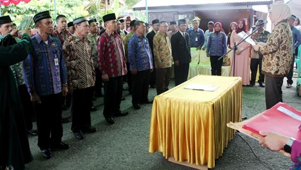 Wali Kota Melanik BPD se Kecamatan Kotamobagu Selatan