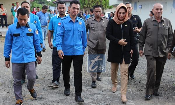 Wali Kota Tatong Bara saat hadir membuka Musda III KNPI  Kotamobagu