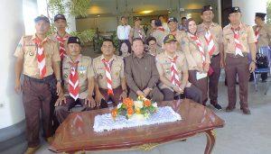 foto Bupati, Ketua DPRD, Bersama Pembina dan Pendamping Kwarcab Bolmong