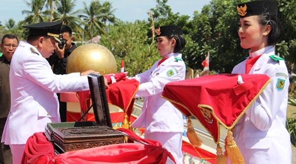 Upacara Peringatan HUT RI Ke-71 di Bolmong Berjalan Khidmat