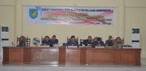 foto Penjabat Bupati saat menghadiri Rapat Paripurna DPRD 02