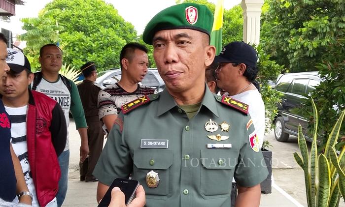 Dandim 1303 Bolmong Let Inf Sampang Sihotang
